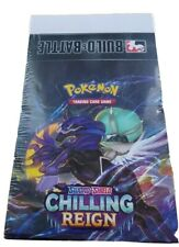 Pokemon - Chilling Reign Build and Battle Case Factory Sealed | 10 Boxes/Case
