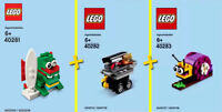 LEGO Monthly Mini Model  #40281, #40282, #40283 - Collector 100% NEW / NEUF