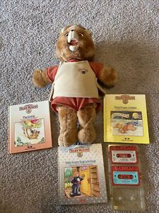 Teddy Ruxpin Doll 1985 Vintage Worlds Of Wonder WOW With Extras! READ