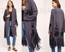 New Anthropologie Nightshade Embroidered Kimono ~ By Vero Alfie ~ M/L -SOLD OUT!