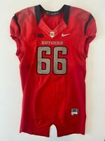 Rutgers Football Game Worn Issued Jersey NIKE Big Ten NCAA F.A.M.I.L.Y. Size 44