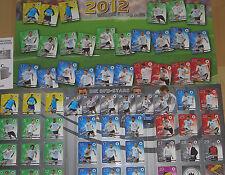 REWE DFB ALBUM EM2012 komplett m. 32 SAMMELKARTEN+6x3D+POSTER+SPIELPLAN EM 2012