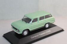 IXO 1:43 Scale Chevrolet Veraneio 1965 Light Green Diecast Models Toys