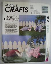 "UNCUT 19"" adoring pig couple pattern 6364 Pokey Pauline piglet dress knickers"