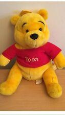 Disney Winnie The Pooh Plush Backpack Rucksack Bag Soft Toy