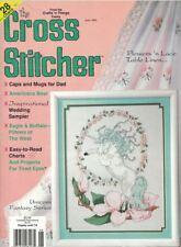 The Cross Stitcher June 1993 Unicorn Fantasy Series Cover Magazine Easy to Read