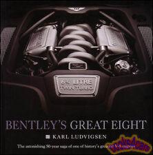 ROLLS ROYCE BENTLEY GREAT EIGHT V8 ENGINE BOOK KARL LUDVIGSEN SILVER SHADOW S1 2