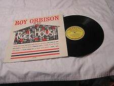 Roy Orbison Sun LP-AT THE ROCKHOUSE MONO