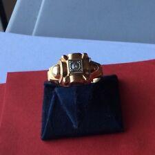Bague Ancienne En Or Avec Petit Diamant