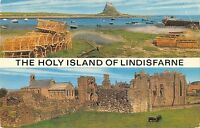 BR66076 the holy slands of  lindisfarne uk 14x9cm