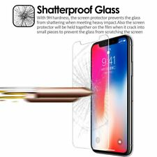 iPhone X Full Cover Tempered Glass Screen Protector Cover 3D Curved Film Guard