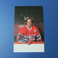 JACQUES LAPERRIERE Montreal Canadiens  1974-75  color postcard 1975  74-75 NMMT