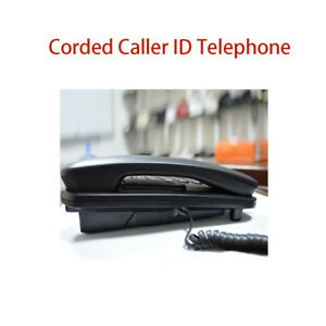 Telephone Corded Wall Hanging Wall Mount Telephone Caller ID Music Reserve Home