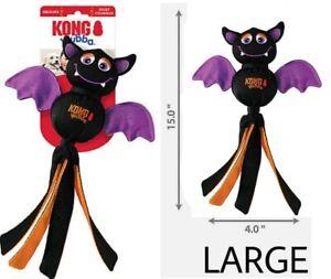 KONG® Wubba HALLOWEEN BAT - (1) LARGE Ballistic Dog Tug Chew Toy FALL 2021