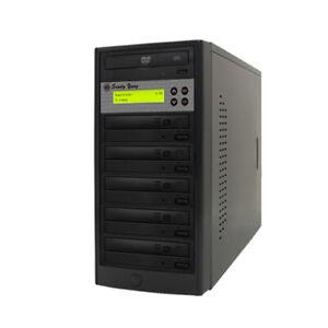 1-5 target 24X Burner SATA CD DVD Duplicator copier Duplication Tower