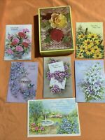 11 Vintage 1960s & 70s Birthday Greeting Cards Box  Sunshine American Greeting