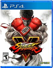 Street Fighter V PS4!  New!! Factory Sealed
