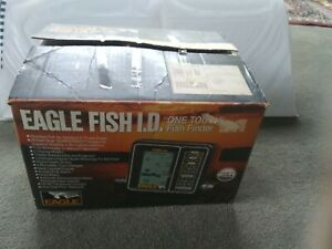 Brand New Vintage Eagle Fish I.D. ID One Touch Fish Finder