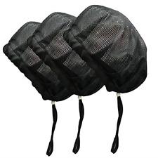 Adjustable Chef Cap Elastic Cooking Hat Food Service Hair Nets Mesh Kitchen Net