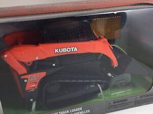 1/18 Scale Kubota SVL90-2 Tracked Skid Steer Loader Plastic Toy New-Ray