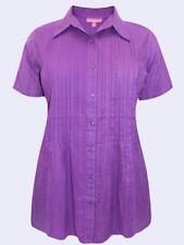 Maglie e camicie da donna a manica corta bluse con colletto