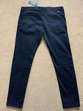 """Diesel Men's Thommer-C Stretch Slim-Skinny Black Jeans, W36"""", 32"""", RRP£160"""