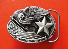 américain héros fin massif ETAIN boucle ceinture