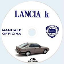Lancia K (838),manuale Officina (ITA),Lancia K Coupe',SW e Berlina.