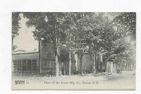 Vintage Postcard *** PLANT of the FOOTE Mfg. Co. *** NUNDA * NY