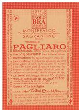 PAOLO BEA VIGNA PAGLIARO MONTEFALCO SAGRANTINO 2009 (750ml)