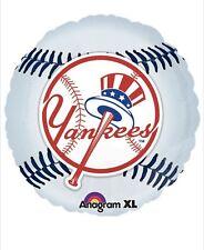"New York Yankees Baseball 18"" Balloon Birthday Party Decorations"