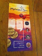 Vintage 1995 Mohegan Sun Connecticut Map Brochure Gambler Gambling Gaming Rare
