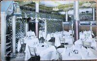 Chicago, IL 1914 Postcard: Ye Baltimore Inn Restaurant Interior - Illinois Ill