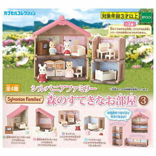 Epoch Gashapon Capsule Sylvanian Families Nice Room in forest part 3 Full Set