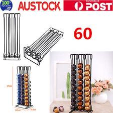 60 Coffee Capsules Pod Holder Tower Stand Dispenser ack Storage For Nespresso AU