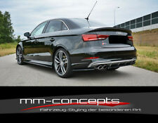 CUP Seitenschweller Ansätze für Audi A3 S-Line S3 8V Facelift Skirts Leisten