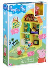 Peppa Pig Heim & Garten Haus Spielset mit Zubehör 3 Jahre +Spielzeug NEU