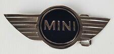 Black Mini Car Logo Metal Belt Buckle