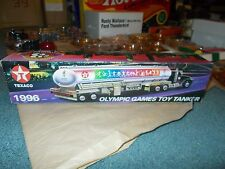 Texaco 1996 Olympic Games Toy Tanker Truck Vehicle 14.25 Inches 1:24 Die-Cast