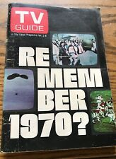 1971 Jan. 2-8 TV GUIDE Year in Pictures Partridge Family T Randall, NYC Ed.