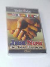Tools4You - Just Now - Der Sofort-Übersetzer Gold * NEU + OVP*PC Software