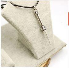 Supernatural Angel Sword Dagger High Quality Vintage Rope Leather Necklace