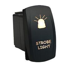 Rocker switch 624W 12V STROBE LIGHT Laser LED white Polaris RZR