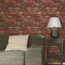 Decoración de paredes de color principal rojo para el salón