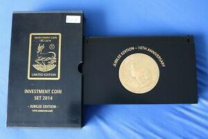 Investment Coin Set 2014 inklusive Box Jubiläums Edition 10 th Aniversary