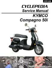 Cyclepedia Kymco Compagno 50i Scooter Printed Service Manual