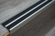 Antislip 120 cm aluminium trappen profiel trapprofiel hoekprofiel trapkant