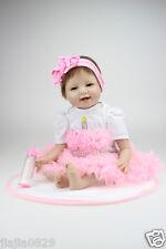 JOYEUX NOËL Poupée Réaliste Bébé poupées 55.9cm nouveau-né fille silicone souple