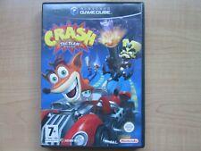Nintendo Gamecube - CRASH Tag Team Racing  - Manual INCLUDED