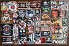 44 AUFKLEBER ULTRAS FC ST. PAULI HAMBURG / MILLERNTOR / PRO PYRO / REEPERBAHN